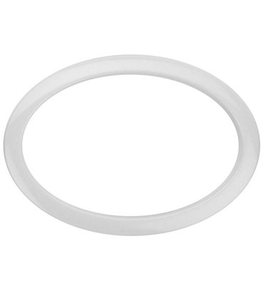 "Bass Drum O's Oval Bass Drum Port 6"" White"