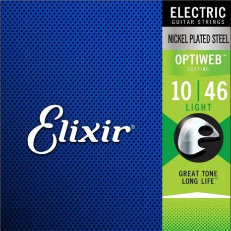 Elixir Cuerdas OPTIWEB Light .010 - .046