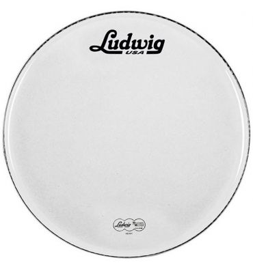 "Ludwig 22"" Resonante 22"" Blanco c/Logo Vintage - Bombo"