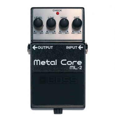 BOSS Pedal Compacto Metal Core