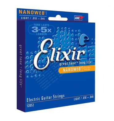 Elixir Cuerdas Nanoweb Light .010 - .046