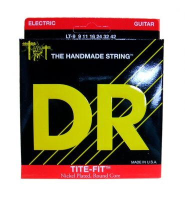 DR Strings TITE-FIT Lite-n-Tite LT-9 Nickel Plated