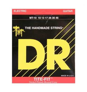 DR Strings TITE-FIT Medium-Tite MT-10 Nickel Plated