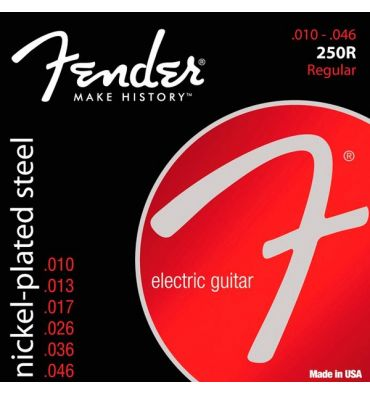 Fender Nickel Plated Regular .010 - .046