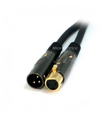 Monoprice Cable XLR Premier Series - 7 Metros